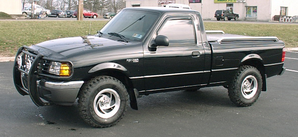 1999 Ford Ranger Bottom Guard : Looking for a black grill guard brush ranger